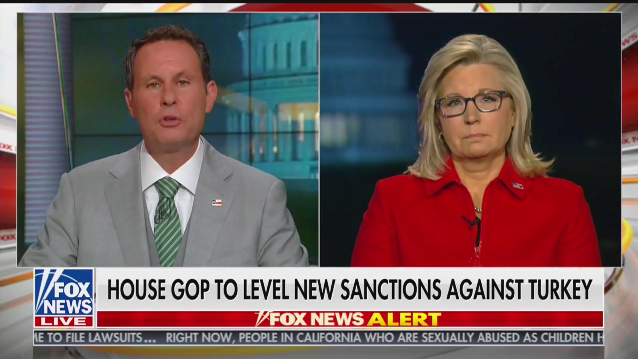 Republican Rep. Liz Cheney Suggests Turkey Invaded Syria Because of Democrats' Impeachment Inquiry