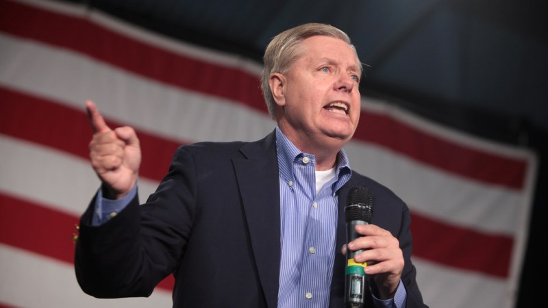 Lindsey Graham Condemns Trump's Syria Withdrawal as Other Loyalists Praise Kurds
