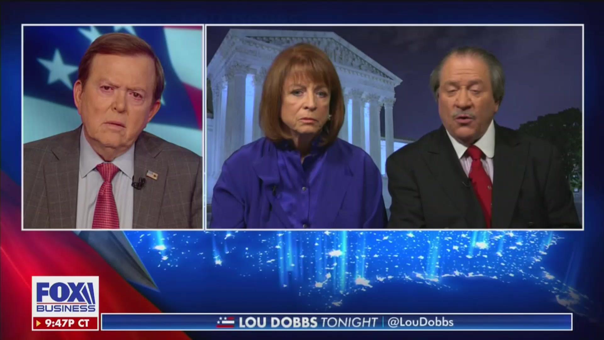 Joe diGenova to Fox's Lou Dobbs: Chris Wallace's Report 'Was Clearly Designed as a Smear'