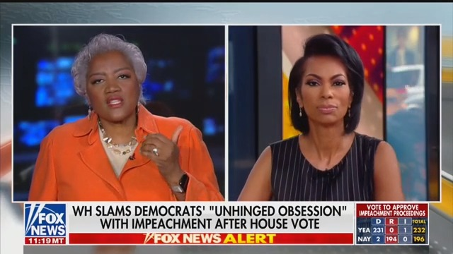 Fox News' Donna Brazile Pleads With Colleague: 'Can You Show Me Just a Little Bit of Respect?!'