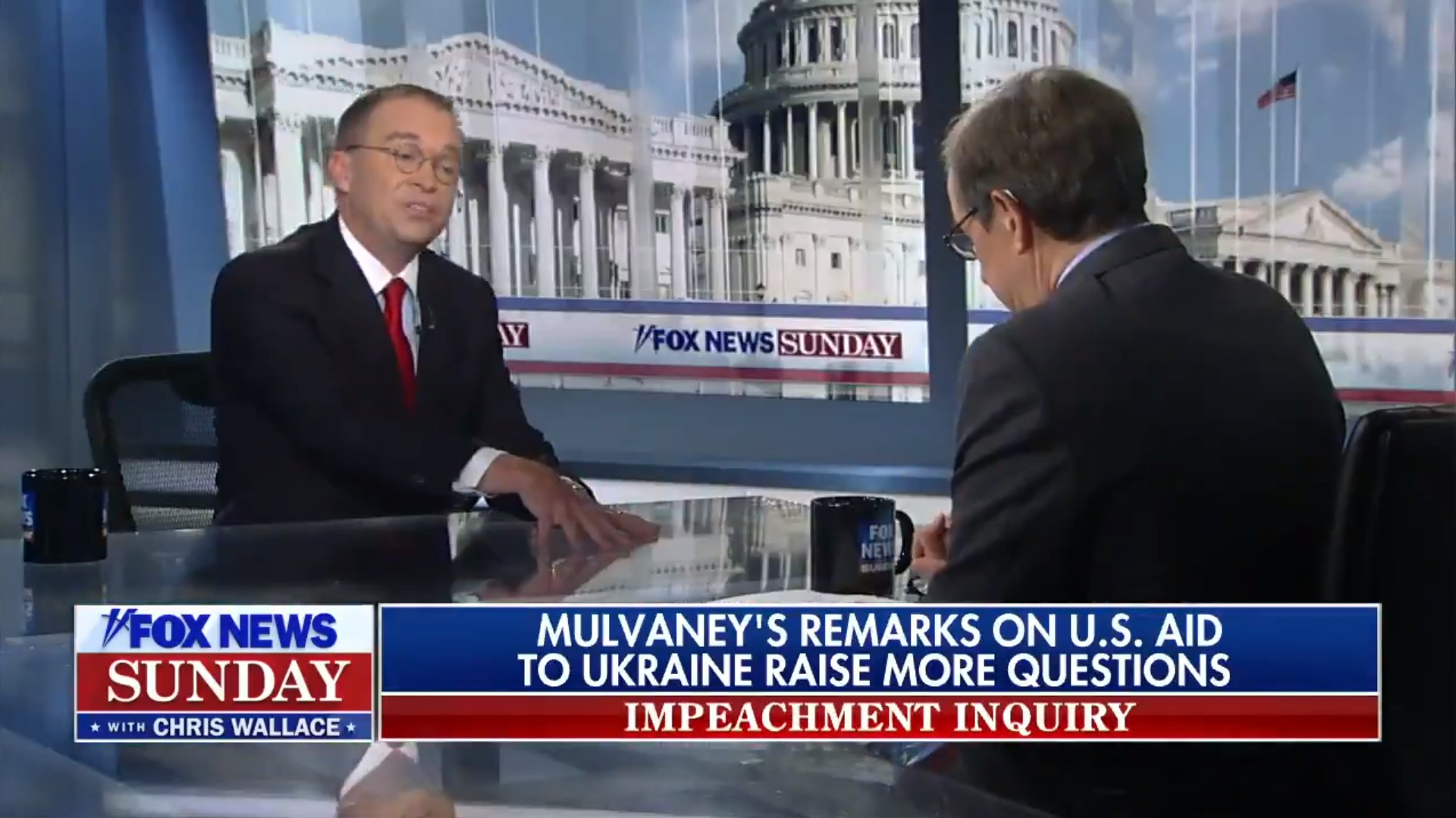 Mick Mulvaney Follows Disastrous Press Briefing With Disastrous Fox News Interview
