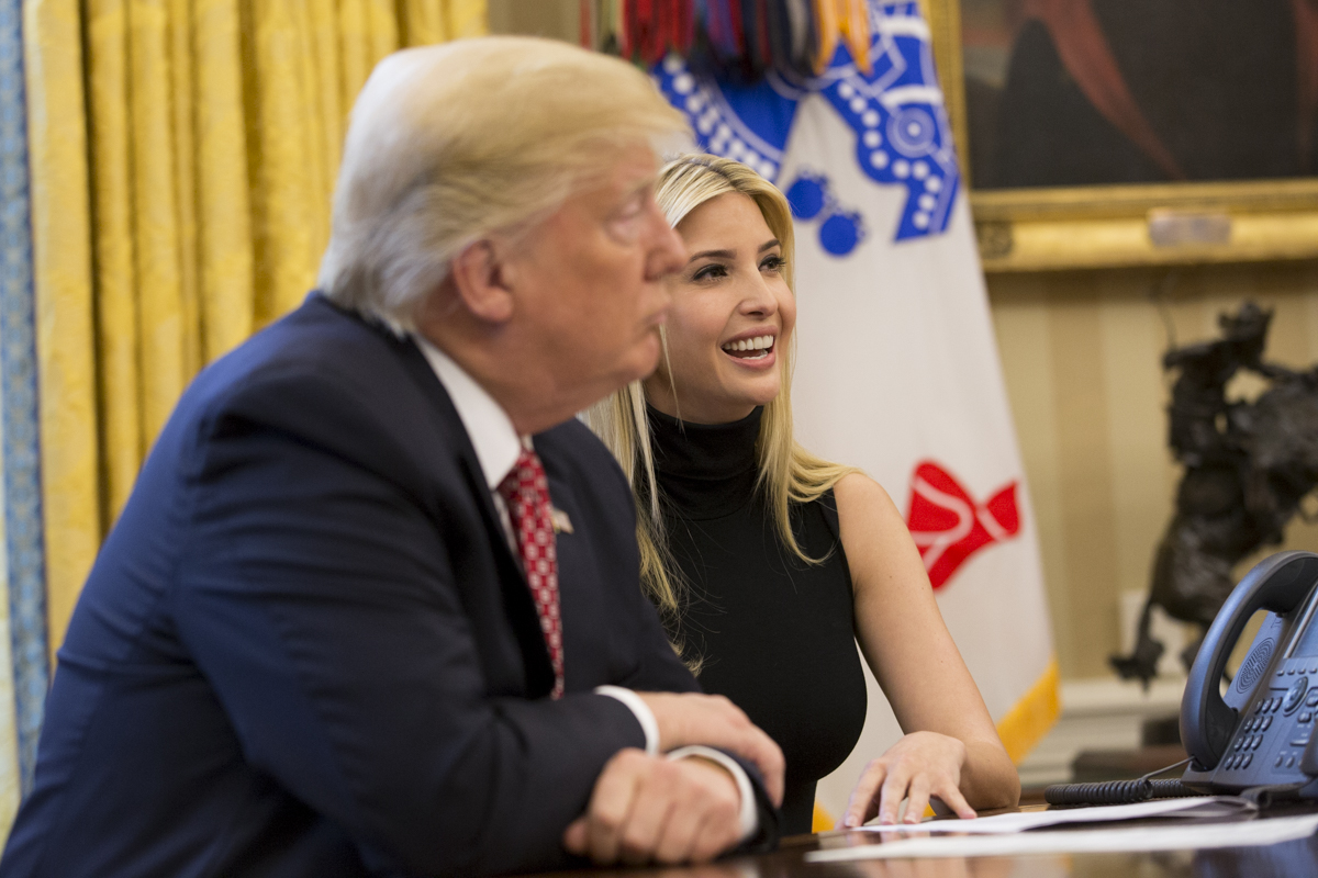 Ivanka Trump Mocked for Defending Father with Fake de Tocqueville Quote