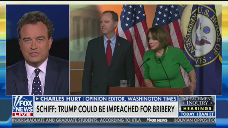 Fox News Contributor: Democrats Are Using 'Squirrelly Words' Like Bribery Because 'They Can't Specify' What Law Trump Broke