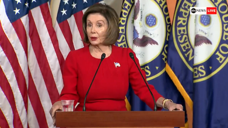 Nancy Pelosi on Impeachment: 'The Devastating Testimony Corroborated Evidence of Bribery'