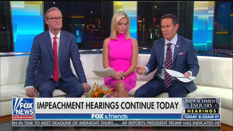 Fox's Brian Kilmeade on Trump/Sondland Call: 'I've Never Heard Both Sides of a Phone Call When You Have it to Your Ear'