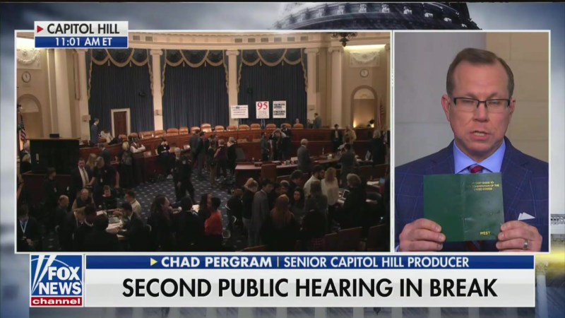 Fox News Reporter: The Constitution 'Doesn't Say Anything About Witness Intimidation'