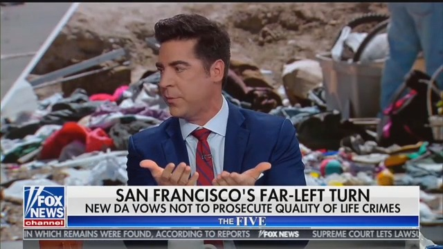 Fox News's Jesse Watters: 'If You Love Something, Do You Let Someone Pee on It?'