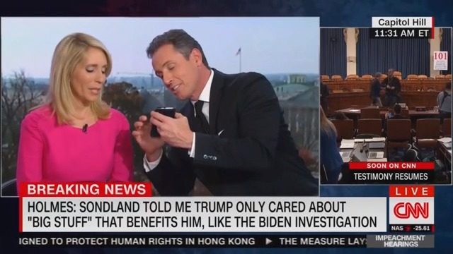 Chris Cuomo's Attempt to Debunk Trump's Phone Claim Embarrassingly Backfires