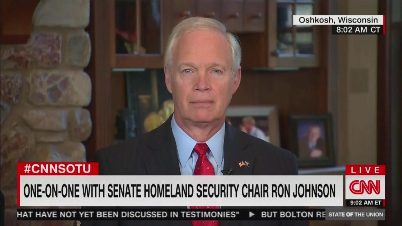 Sen. Ron Johnson: Ukraine Aid Holdup Possibly Just a Timing Issue Near End of Fiscal Year