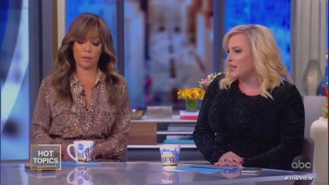 Sunny Hostin Has Enough of Meghan McCain: 'You Have Been Speaking a Lot'