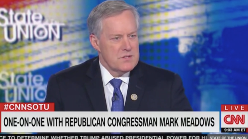Mark Meadows Denies that Trump Asked Zelensky to Investigate the Bidens