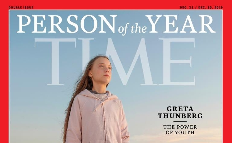 Climate Activist Greta Thunberg Named Time Magazine Person of the Year