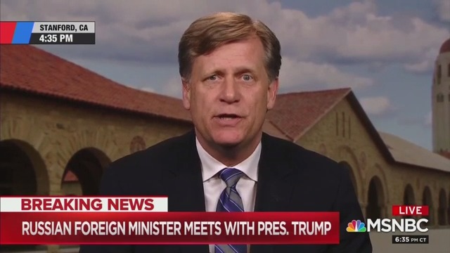 Former Russia Ambassador: Trump-Lavrov Meeting 'Especially Tragic'
