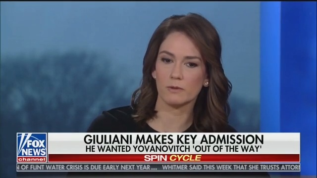 Fox News' Jessica Tarlov: Rudy Giuliani Is 'Transparently Corrupt'