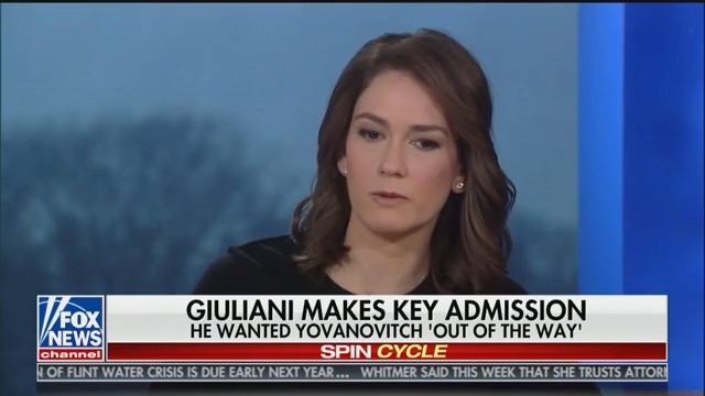 Fox News' Jessica Tarlov: Rudy Giuliani Is 'Transparently Corrupt'