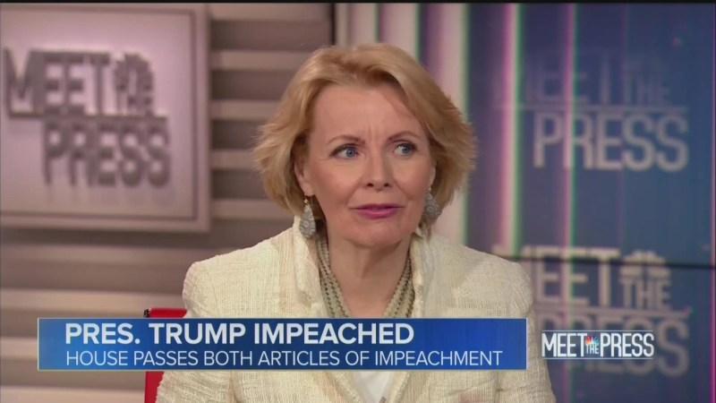 WSJ Columnist Thinks Trump's Impeachment Is Underwhelming