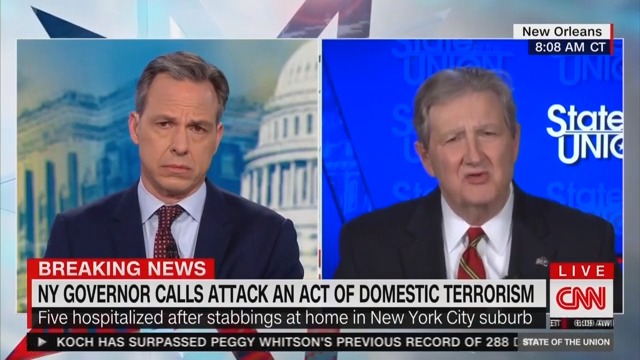 Sen. John Kennedy: There Are 'No Substantive Rules' on Senate's Impeachment Trial
