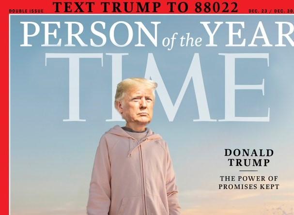 Trump Team Photoshops His Face Onto Greta Thunberg 'Time' Cover