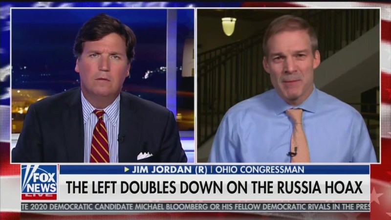 Tucker Carlson: 'We Should Probably Take the Side of Russia' If We Have to Choose Between Them and Ukraine