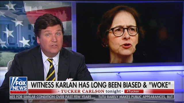 Tucker Carlson Attacks Impeachment Witness Pamela Karlan: 'This Lady Needs a Shrink'