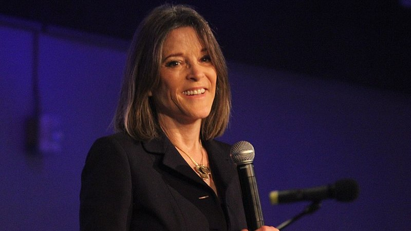 Marianne Williamson Deletes Tweet Falsely Claiming Trump Pardoned Charles Manson