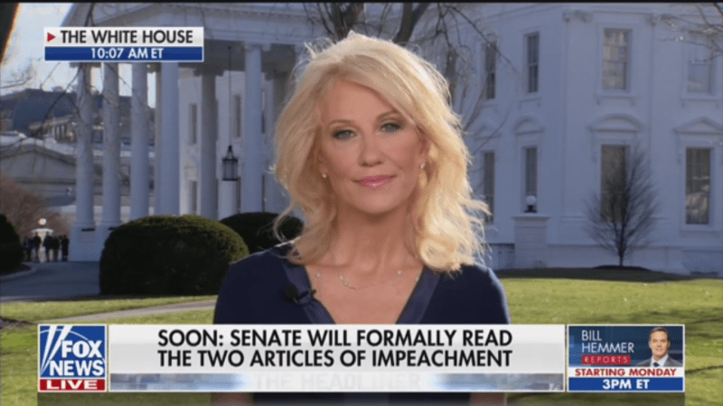 Kellyanne Conway Refuses to Say if Lev Parnas' New Allegations Are True or False