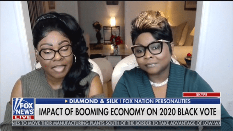 Diamond and Silk: Democrats Are Treating Trump Like Black People 'During the Jim Crow Day'