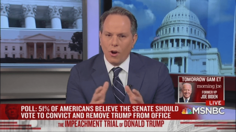 NBC Analyst on Senate Impeachment Rules: 'It's Very Hard to Call This a Trial'