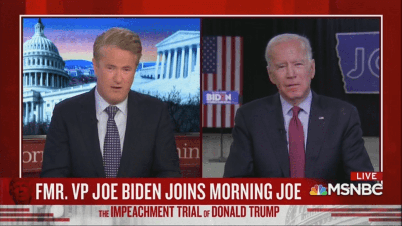 An Emotional Joe Biden Talks About His Late Son: 'Beau Should Be The One Running For President, Not Me'