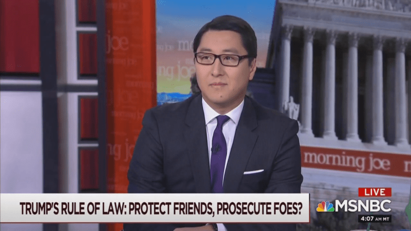MSNBC's Kurt Bardella: Justice Department Is Trump's 'Personal Law Firm' to 'Inflict Revenge on His Enemies'