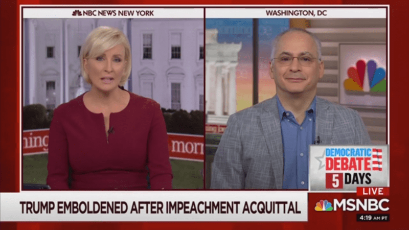 MSNBC Guest: Bill Bar Was 'Genuinely Upset' Because Trump Was Making It Harder to Protect Him