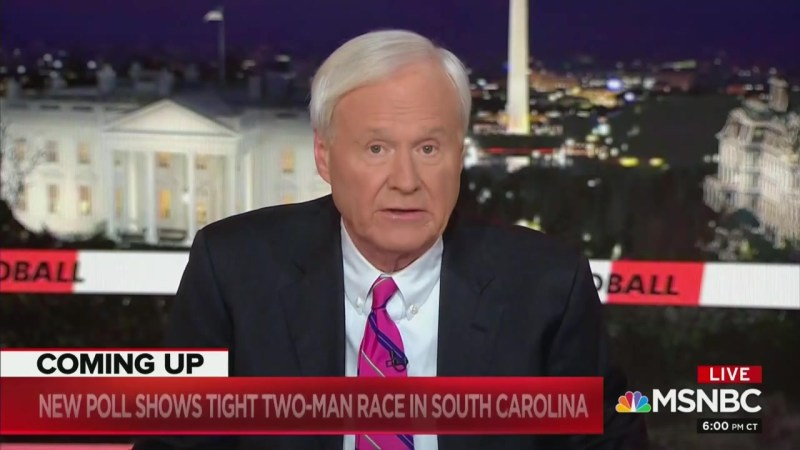 Chris Matthews Apologizes for Nazi Bernie Analogy: 'I Used a Bad One'