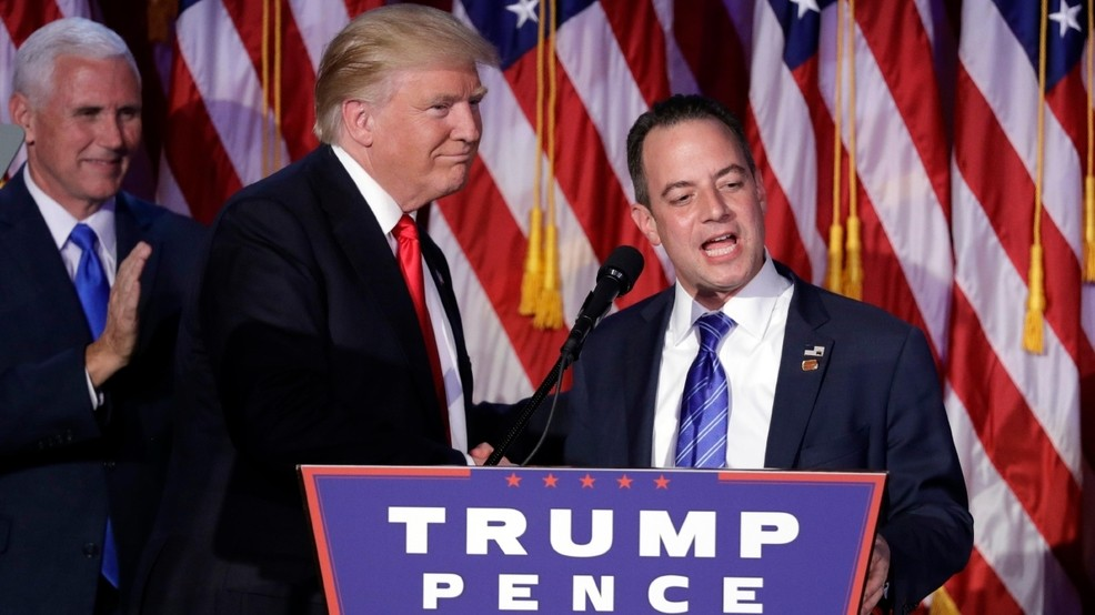 Trump Kept Asking Reince Priebus About Badgers and Wanted to See Photos, Book Claims
