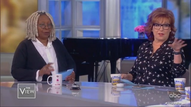 Whoopi Goldberg and Joy Behar Side with Bloomberg Over Elizabeth Warren, Warn Her to 'Be Very Careful'
