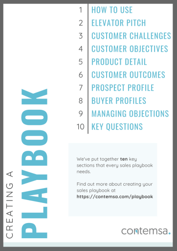 10 Sections to Include in Your Sales Playbook - Download