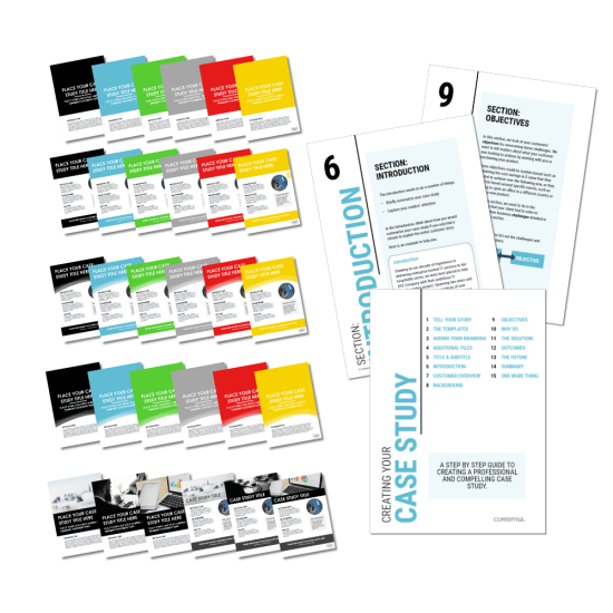 Case Study Covers and Guide to creating your Business Case Study