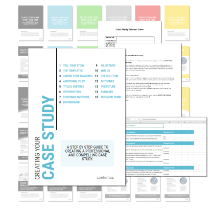 Case Study Template - All contents of the pack
