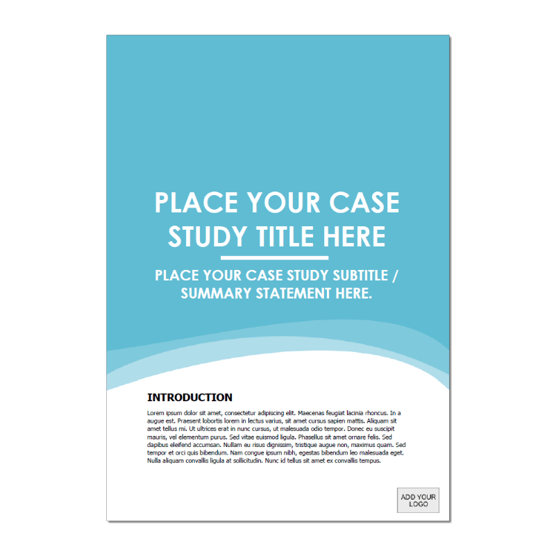 Case Study Template Long Blue Cover Version