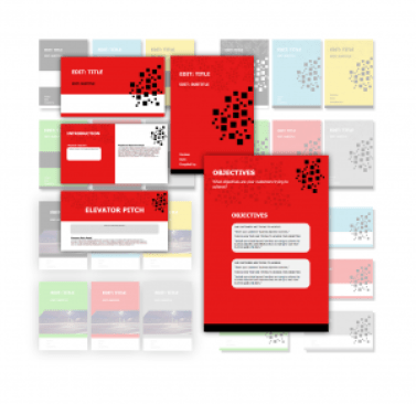Sales Playbook Template - Red Example