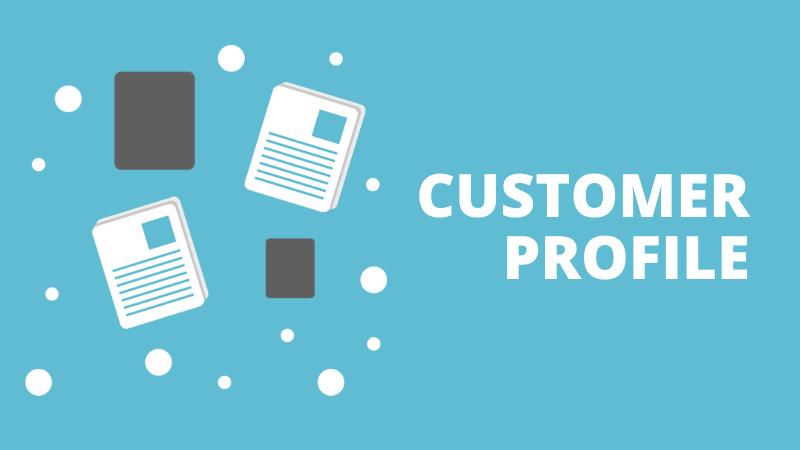 Target customer profile for sales playbook