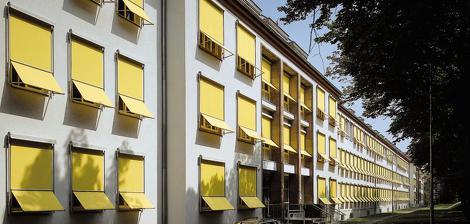 Markisolette Senkrechtsmarkise Fenster Markise Wintergarten Terrassendach Fassade