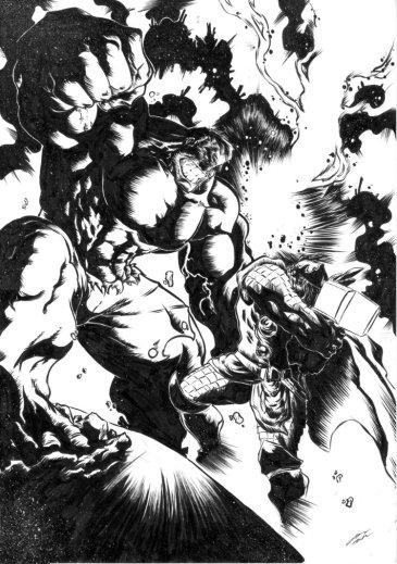hulk_vs__thor_failed_ink_by_gebdesign-d52h66s