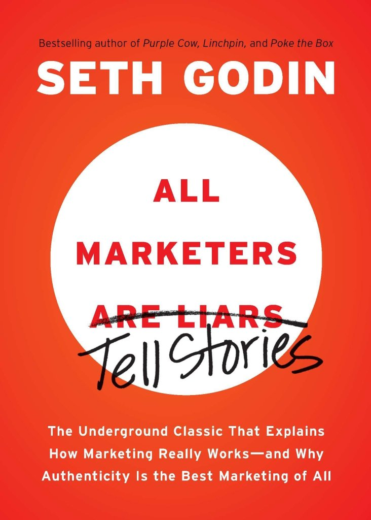 best marketing books - all marketers tell stories