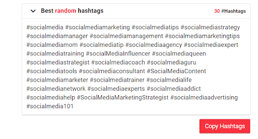 best hashtags for social media content plan