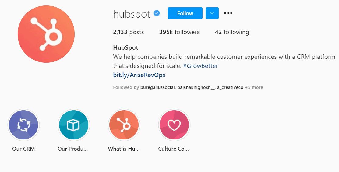 hubspot instagram marketing