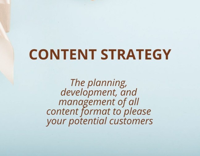 What is Content Strategy