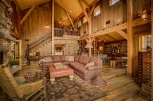 Natural Element Homes Log Hybrid Timber