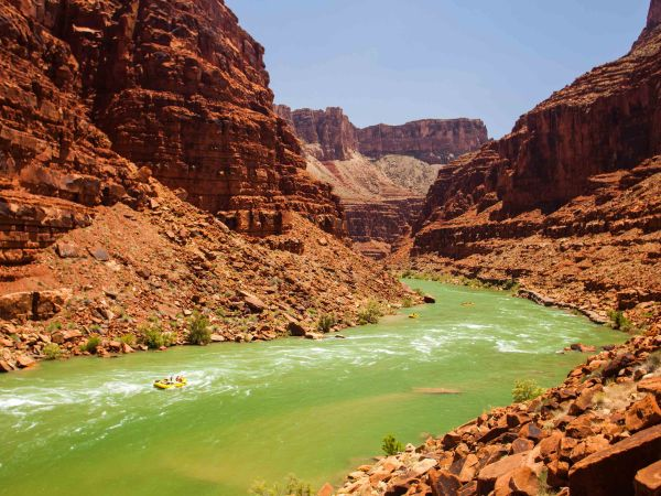 Grand Canyon Rafting With Oars Lees Ferry - Phantom Ranch