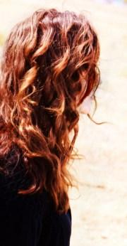 scotch irish red curly hair