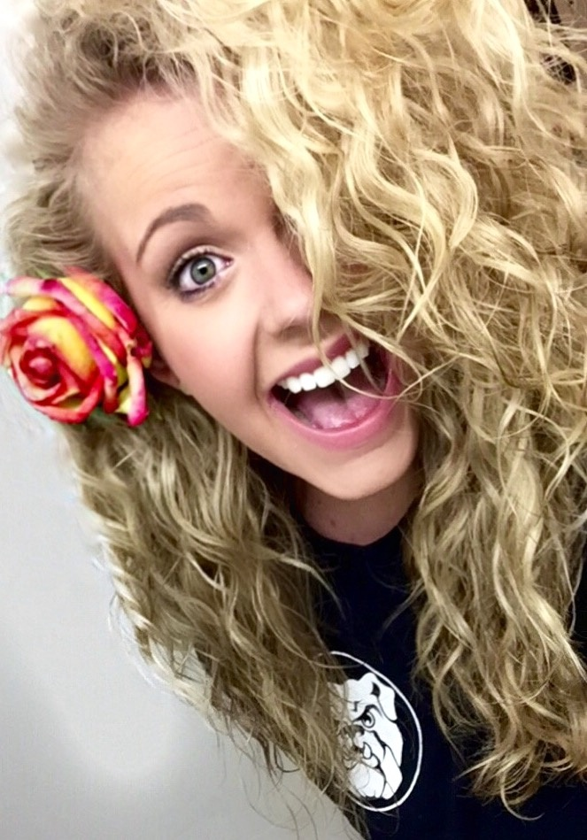 Blonde 3A Curls By Klyons90